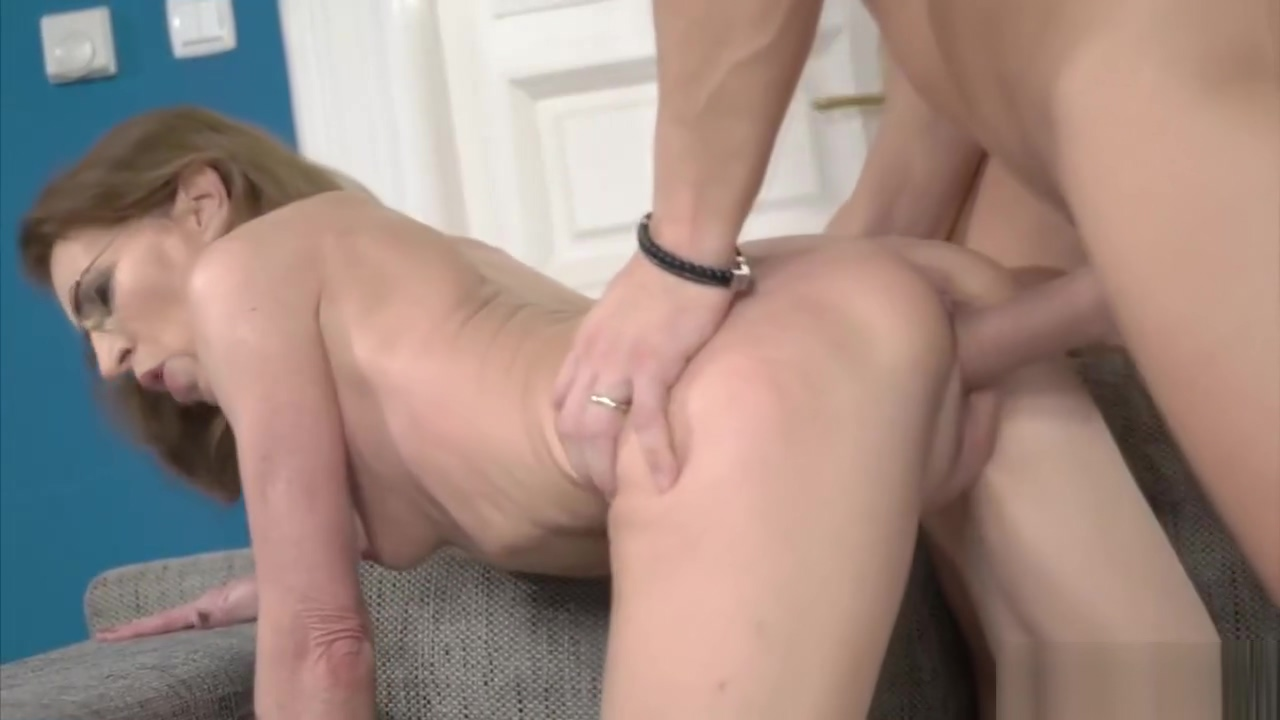 Gramma got hungry and gets fucked Cute lesbo sex