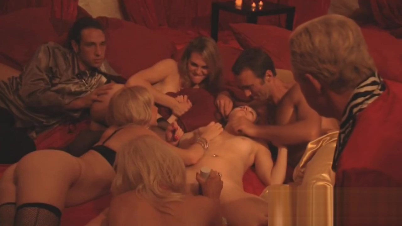 Swingers are excited to enter the Swing House They share their sexual fantasies with interviewer Boobs pressing nude