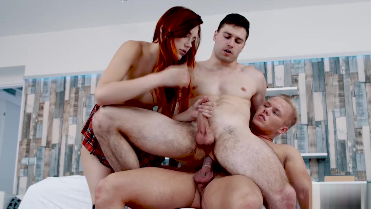 Billy getting sucked by Charlie Red while getting analed by Christian Hot amateur masturbating