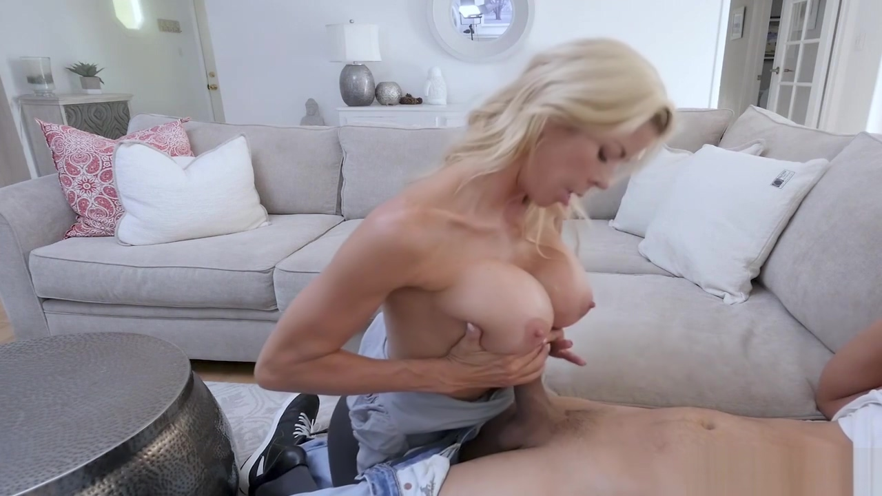 Busty cougar stepmother hyped a boring movie with pussy can harder i piss than