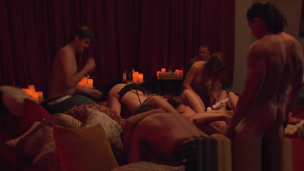 Hot big dicked cuckold takes wife to ORGY at the SWINGER HOUSE Amateur blonde chick