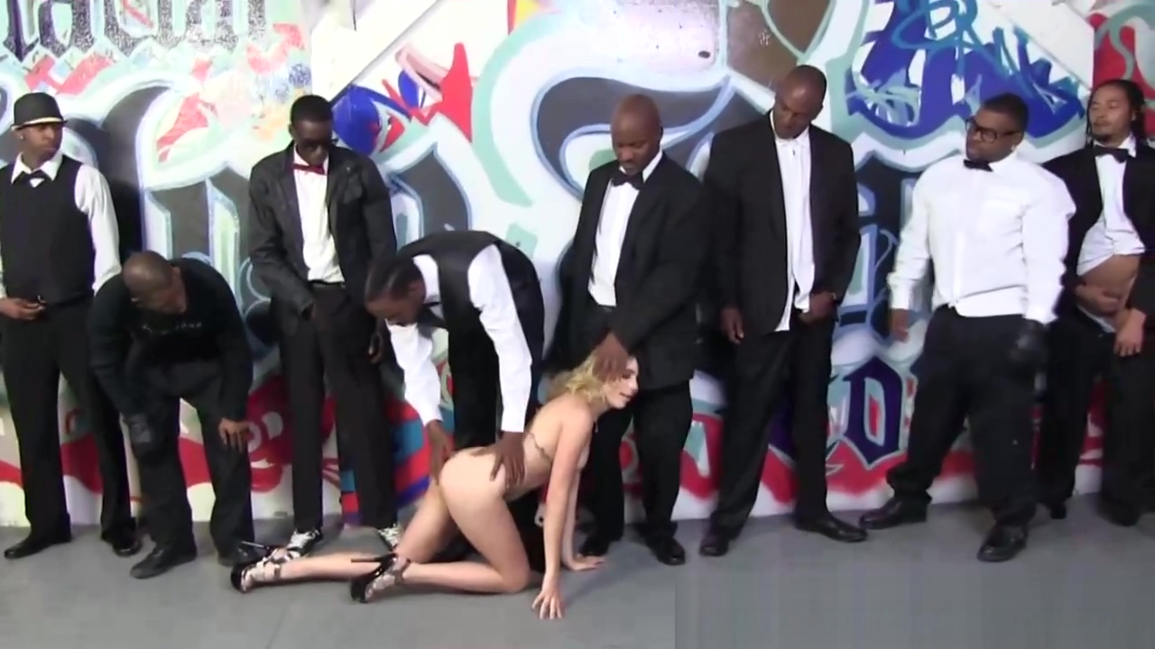 Black power meeting gangbang Spice girl sex video