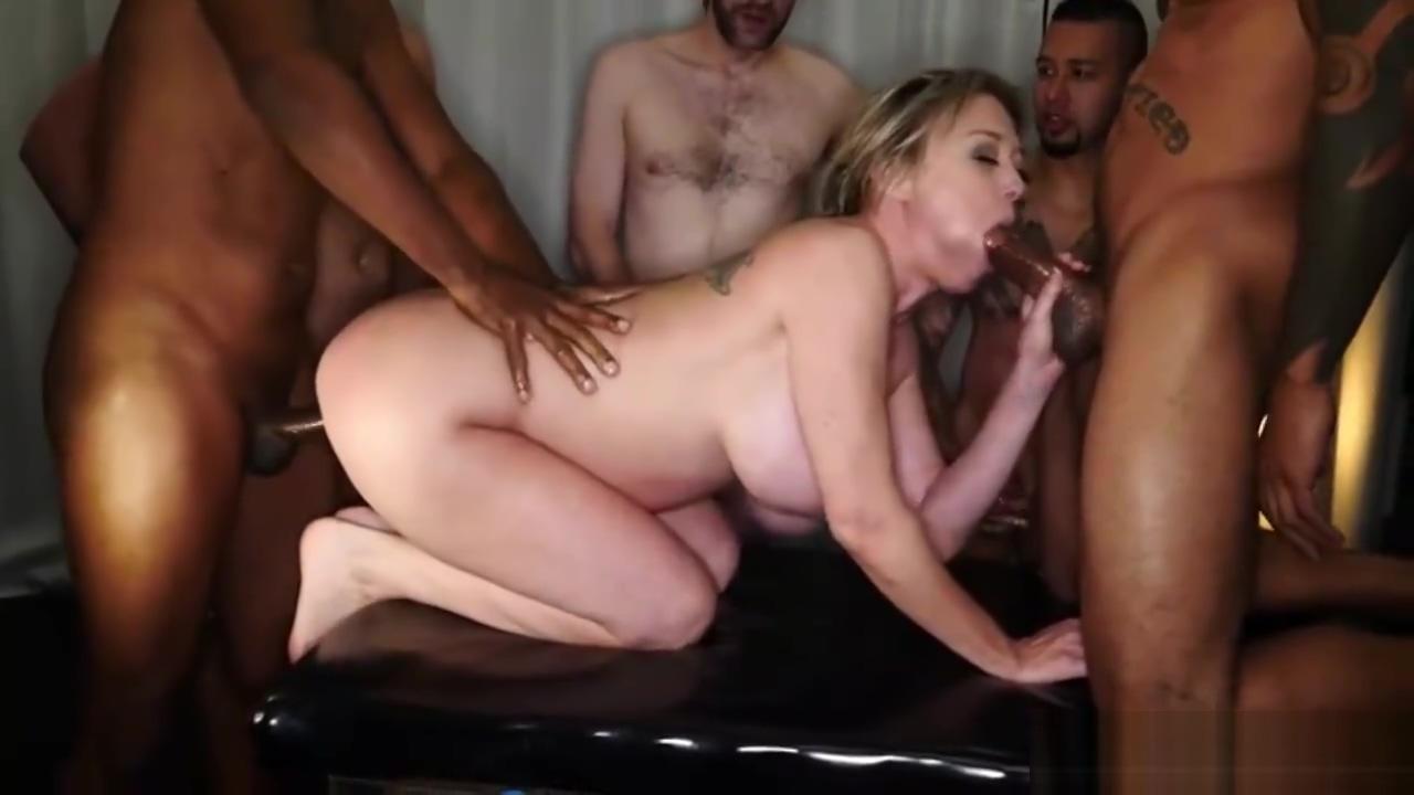 Dee Williams - gangbang creampie English gay porn