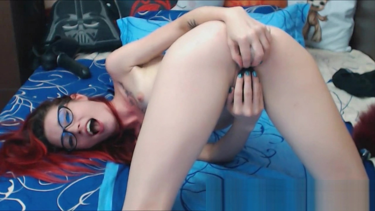 Cute Emo Redhead Petite Teen Toying Sunny leone's sexy images