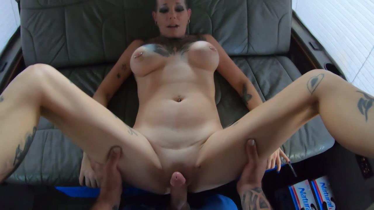 Chassidy Lynn - Smoking MILF, Public Sex, Rough Sex, Creampie
