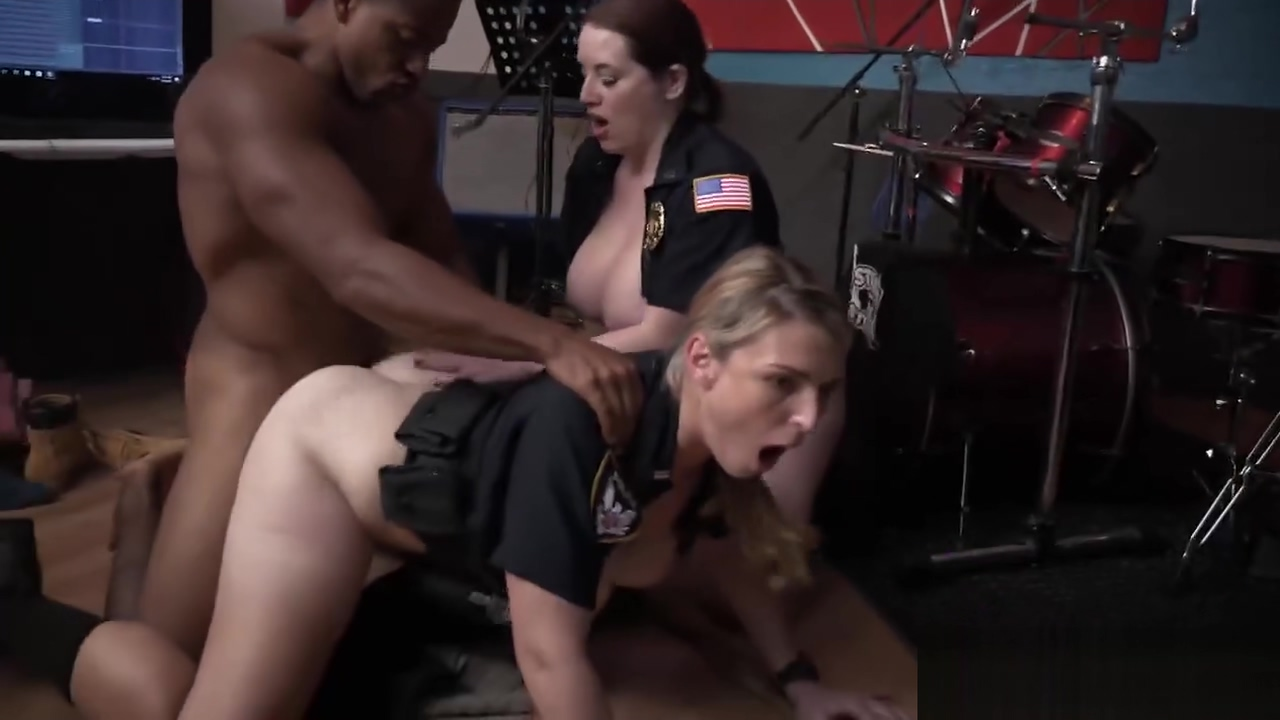 Arrested black thug needs to fuck two female cops for a freedom search anal amateur latina porn latina latino porn 2