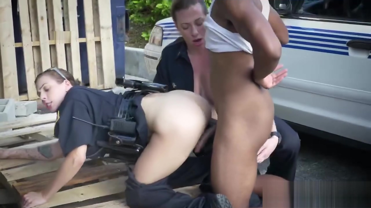 Hot bitches in police uniforms are having hard outdoor sex with black stud mature men sucking cock blogs