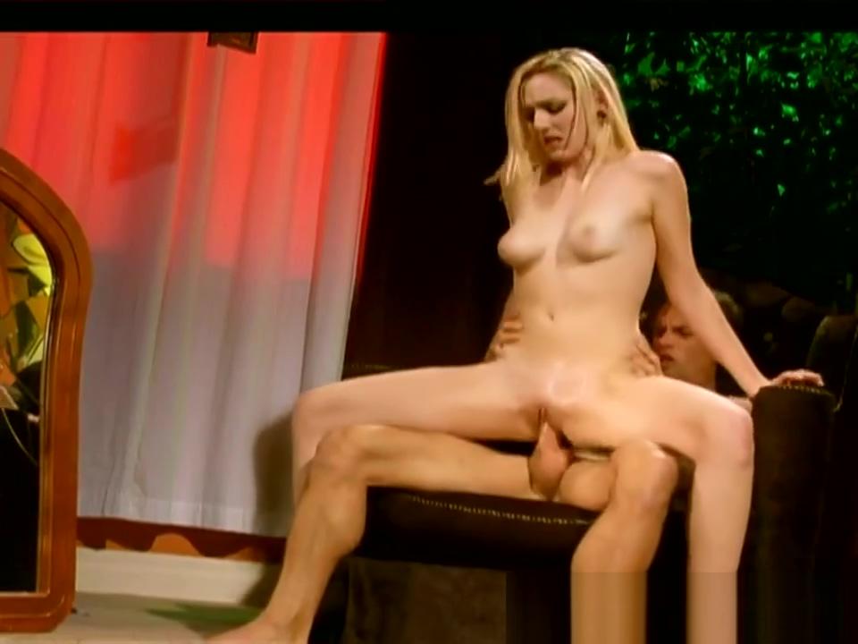 Exotic xxx video Blonde exclusive show