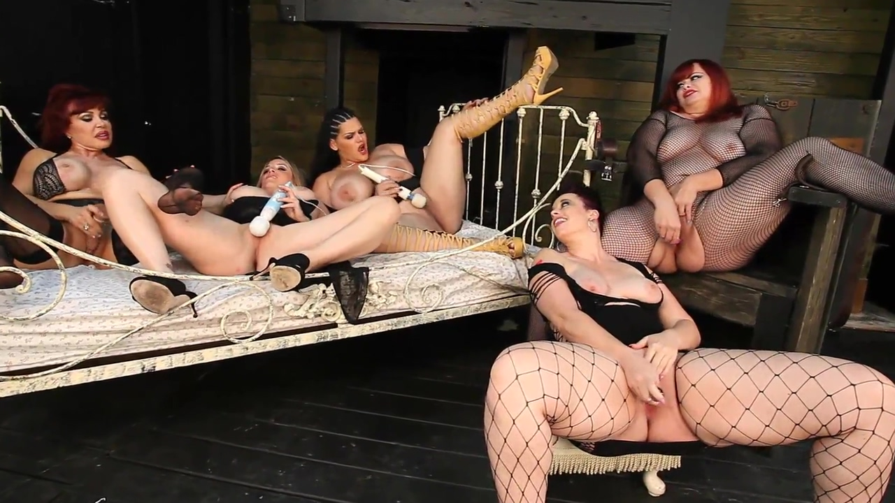 Marcy Diamond, Maggie Green, VIrgo Peridot, Angelina Castro and Sexy Vanessa in a 5 girls lesbian masturbation party I am smart boy