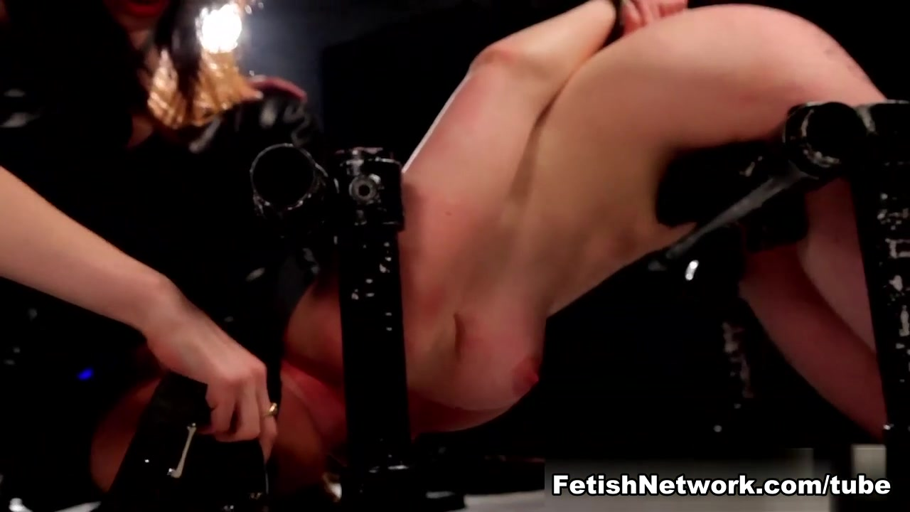 Hot Nude Rough lezdom action for bdsm loving asian