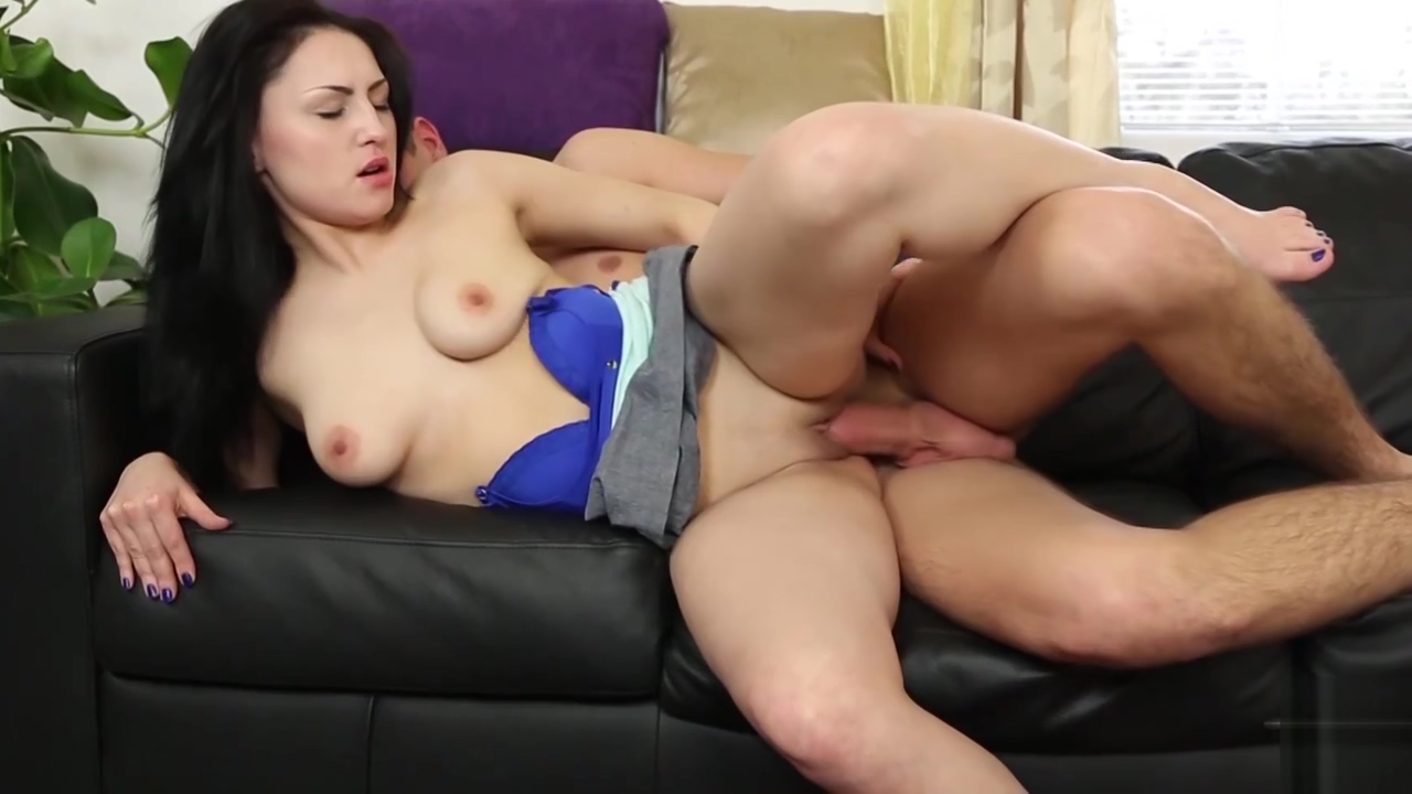 Black hair gipsy babe open legs wide for young big cock