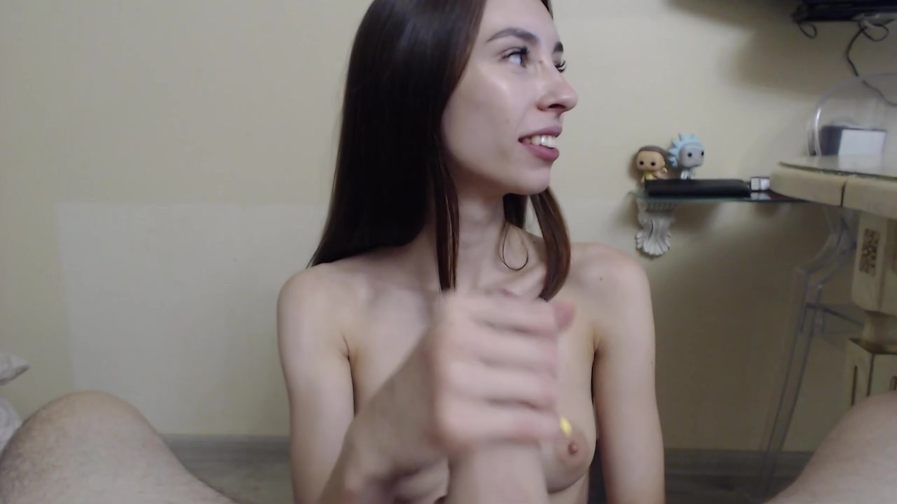 Foot Fetish Brunette Spoiling A Cock Me & My Girl Fuck On Video