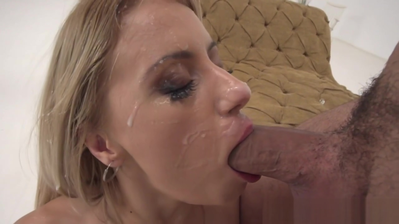 Blonde Anally Rides Massive Dong