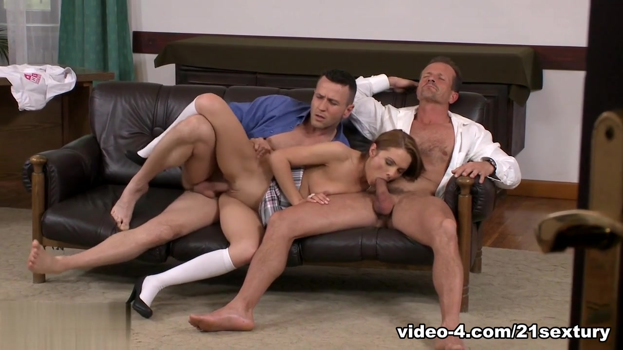 Exotic pornstar in Amazing DP, Threesomes adult video