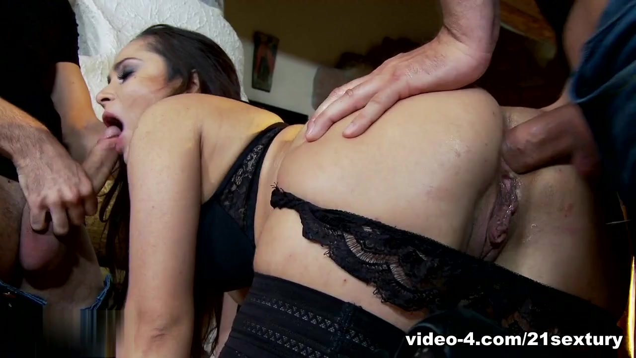 Fabulous pornstar in Hottest Stockings, Threesomes porn video