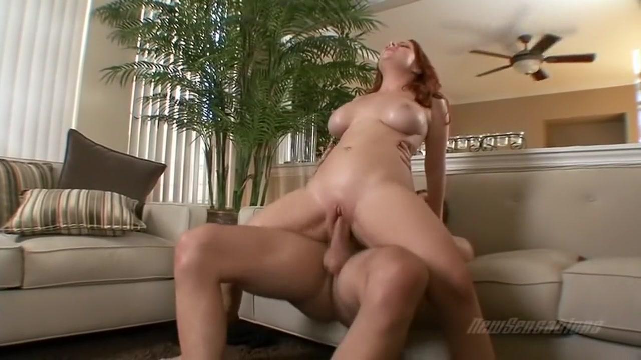 New porn Drunk redhead Italian MILF having sex by candlelight