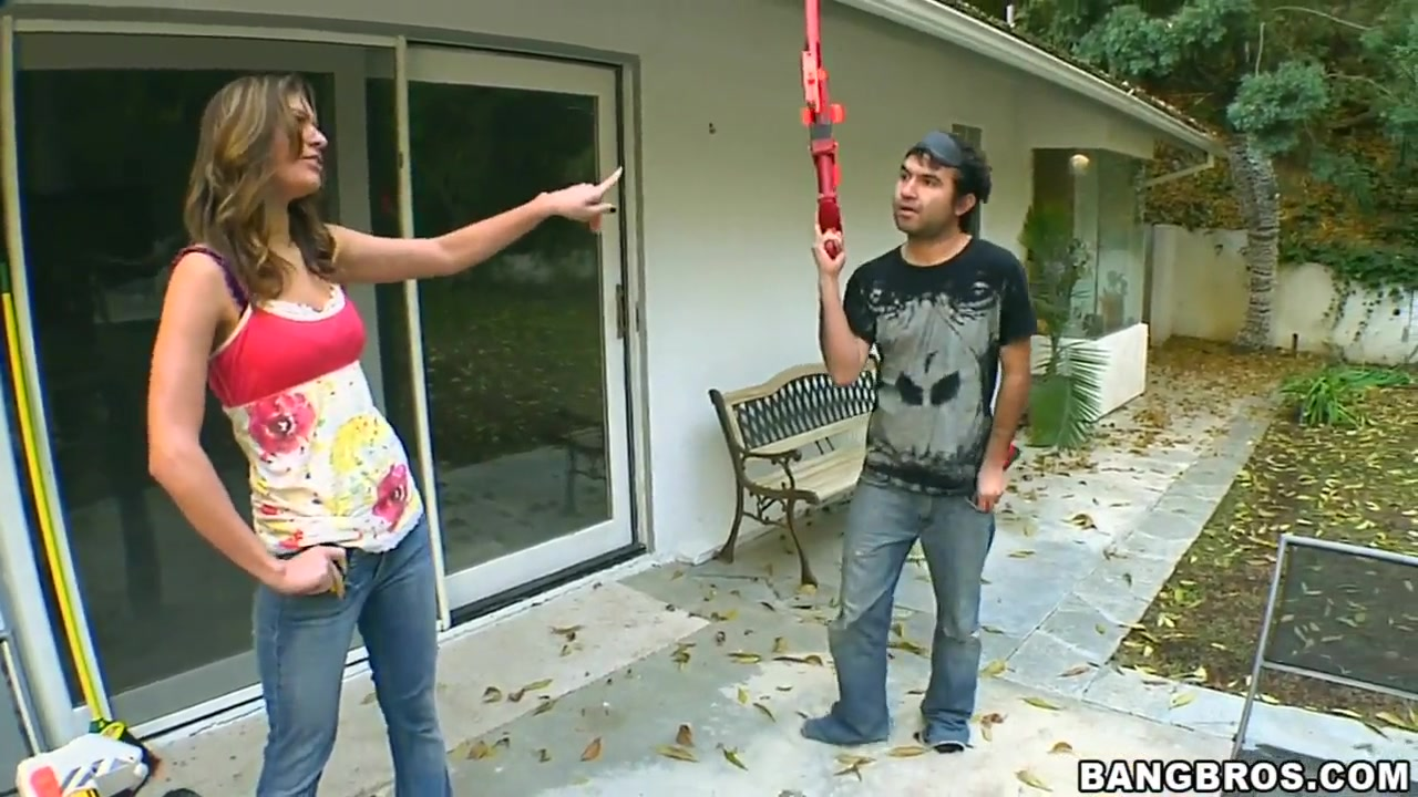 Victoria Lawson gets drilled somewhere outside Wives spanked with a belt videos