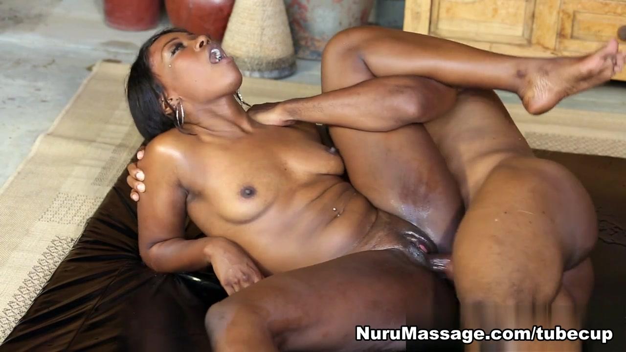 Naked xXx Nurse rubber glove handjob