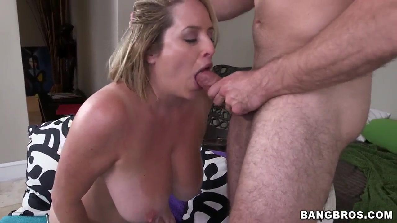 New porn Denise milani purple bikini