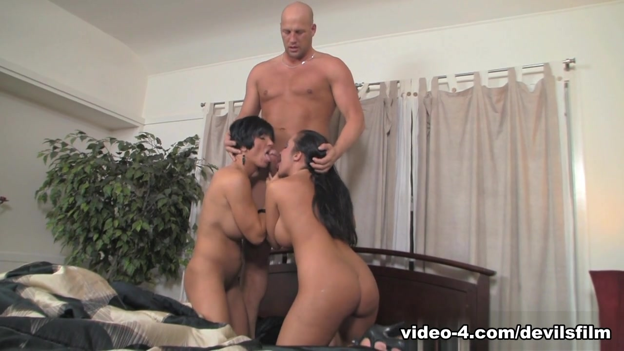 Exotic pornstars Shay Fox, Richelle Ryan, Christian XXX in Crazy Brunette, Big Tits porn clip Where does the word chivalry come from