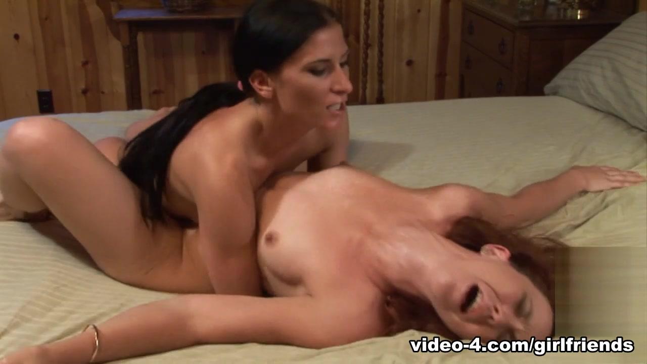 Lesbian porn Lingerie horny