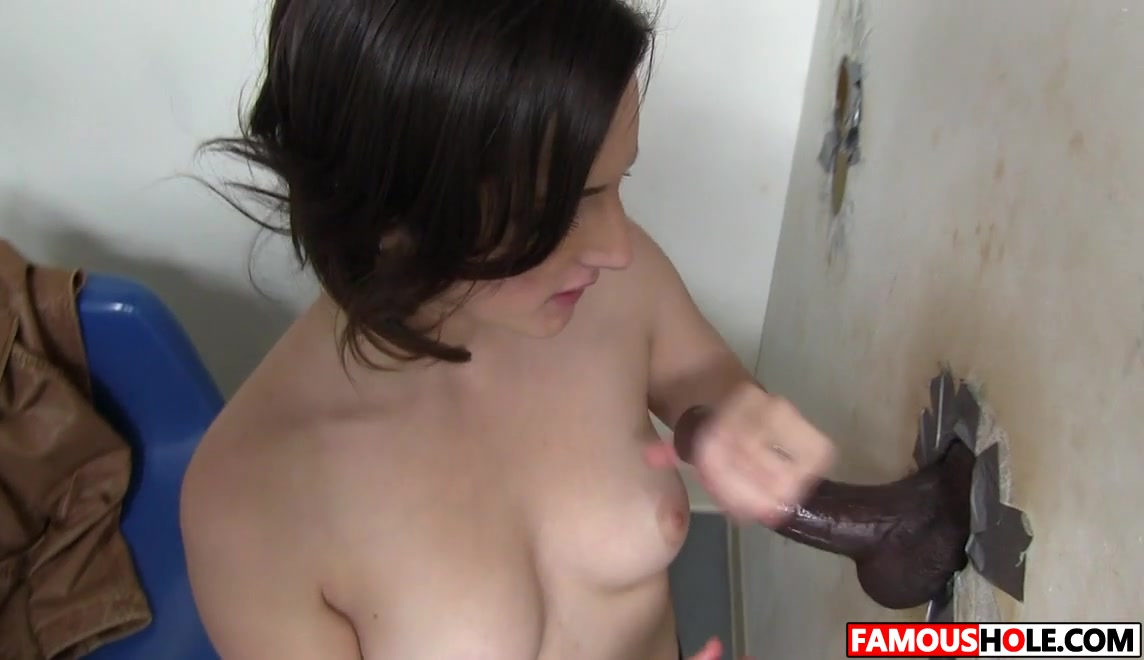 Big Black Cock For Tegan Mohr At The Famous Glory Hole Hardcore Anal
