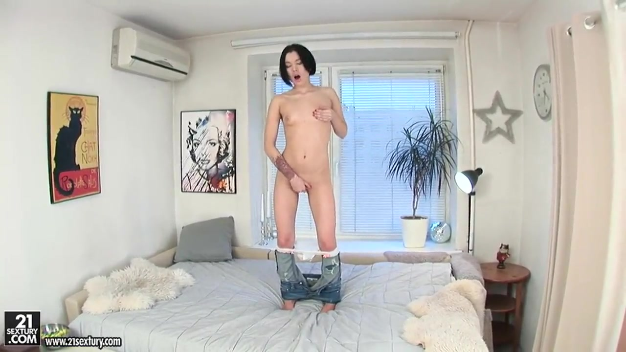 New porn Naked girl with dildo in her mouth