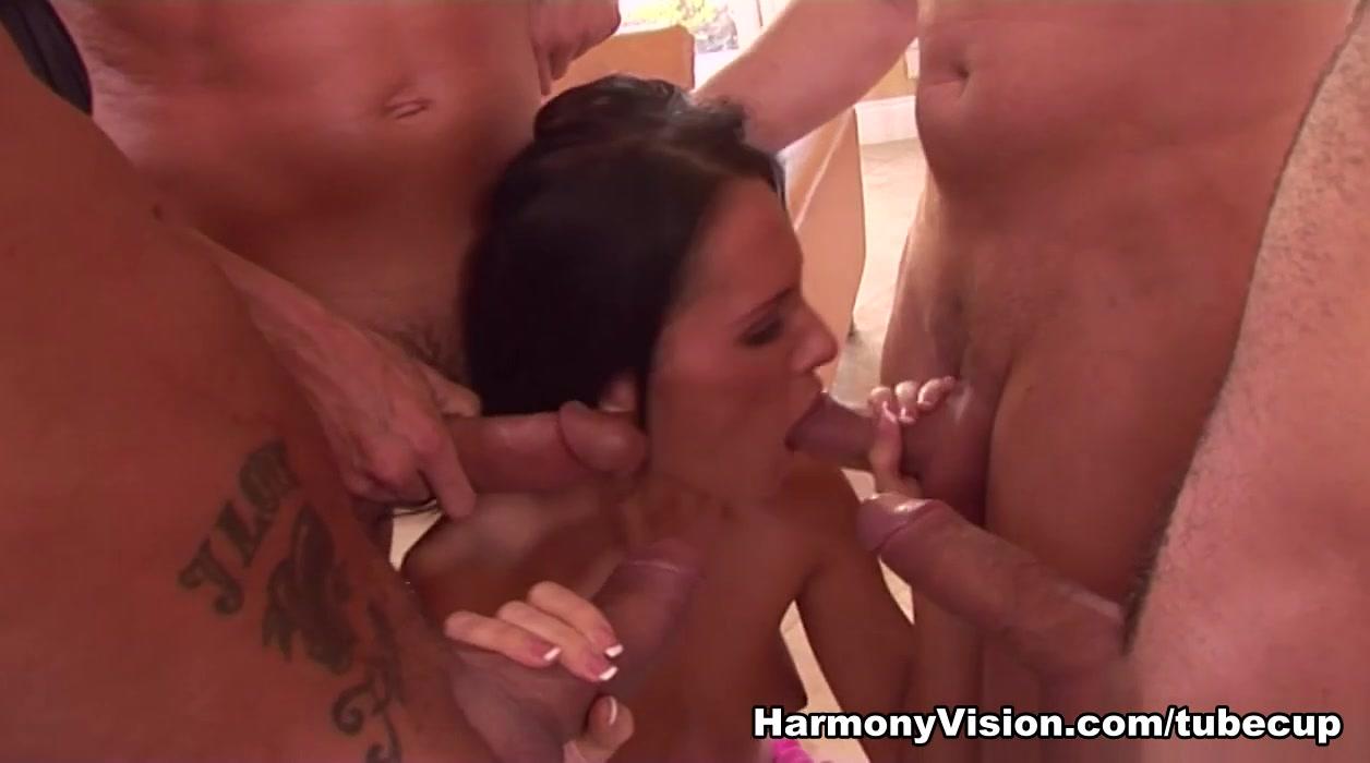 Exotic pornstar Jennifer Dark in Incredible DP, Gangbang adult video Marcy blonde milf tits