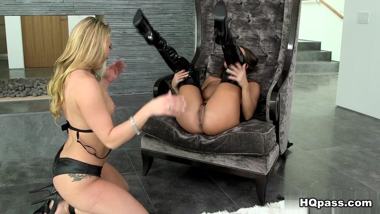 Chair masturbation solo female