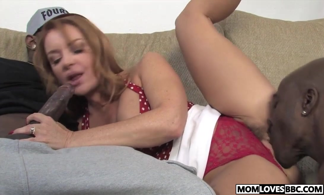 Sexy Photo Busty milf interracial pounding