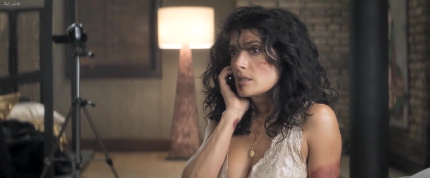 Everly (2014) Salma Hayek Hot and sexy south indian actress