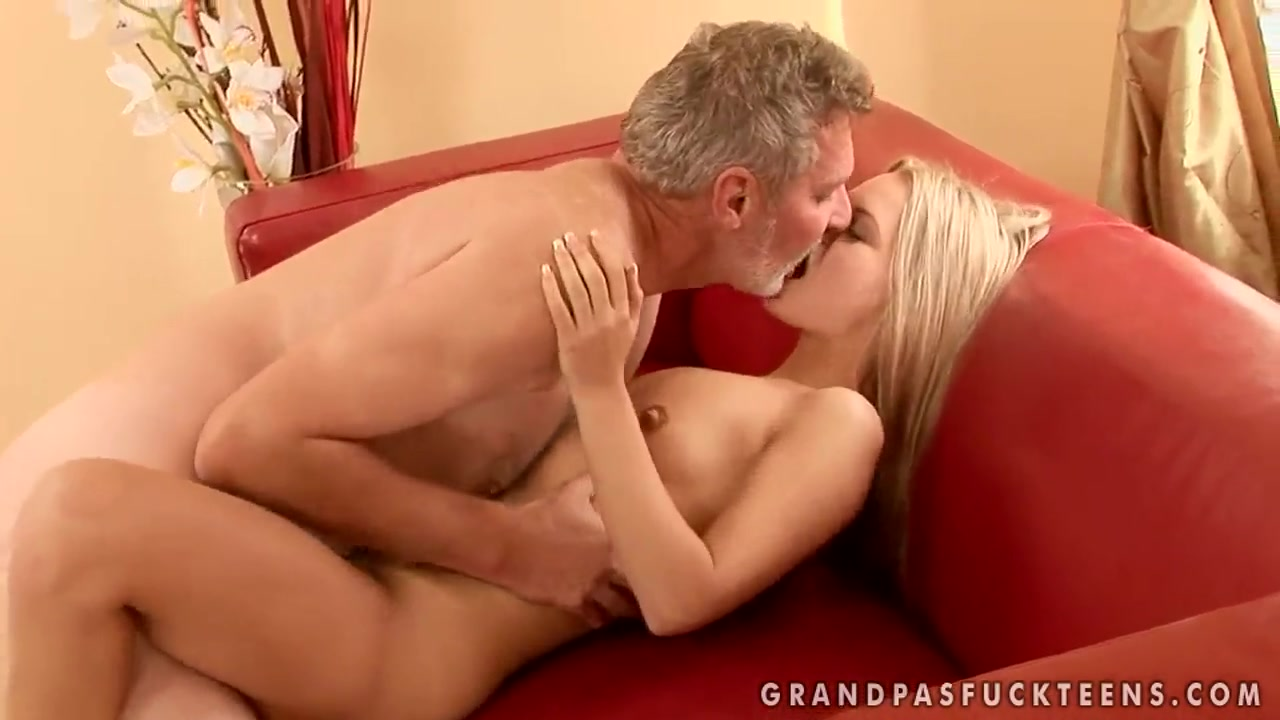 Sabrinka is having some good sex with an older guy and his dick American pie naked porn