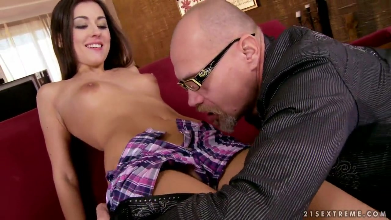 Grandpa is spending nice time with young girl ginny weasly sex video