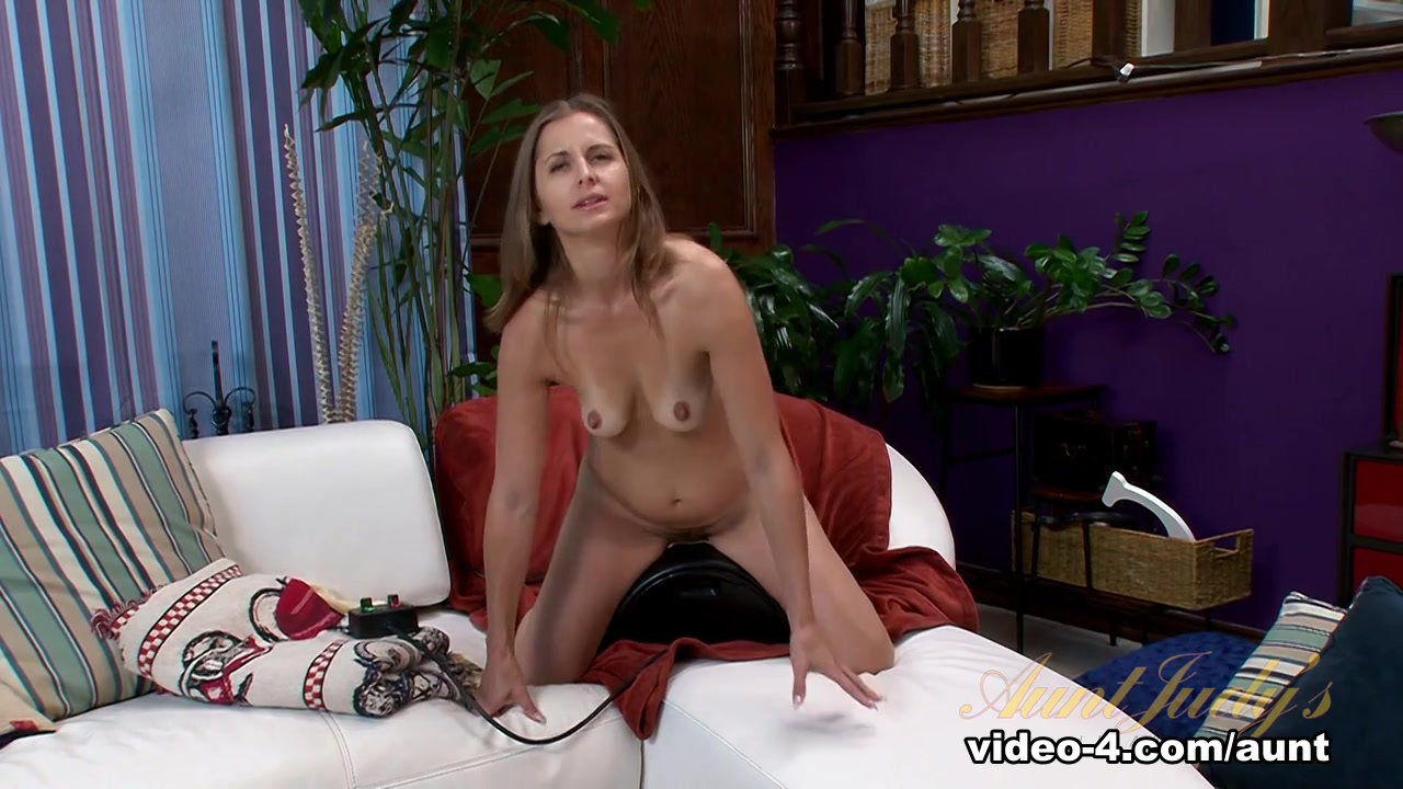 AnalAcrobats Lesbians Play with MASSIVE Double Dildo Sexy Video