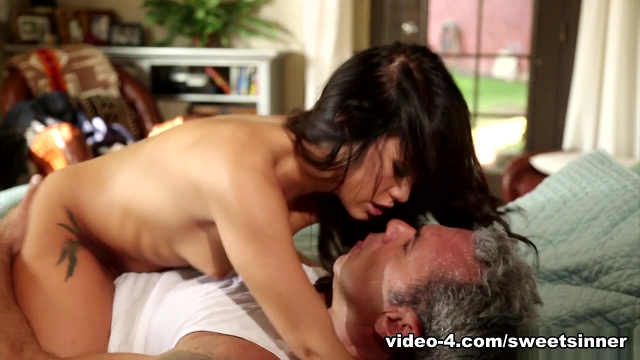 Porn archive Big boobed Aletta Ocean fucks with two guys