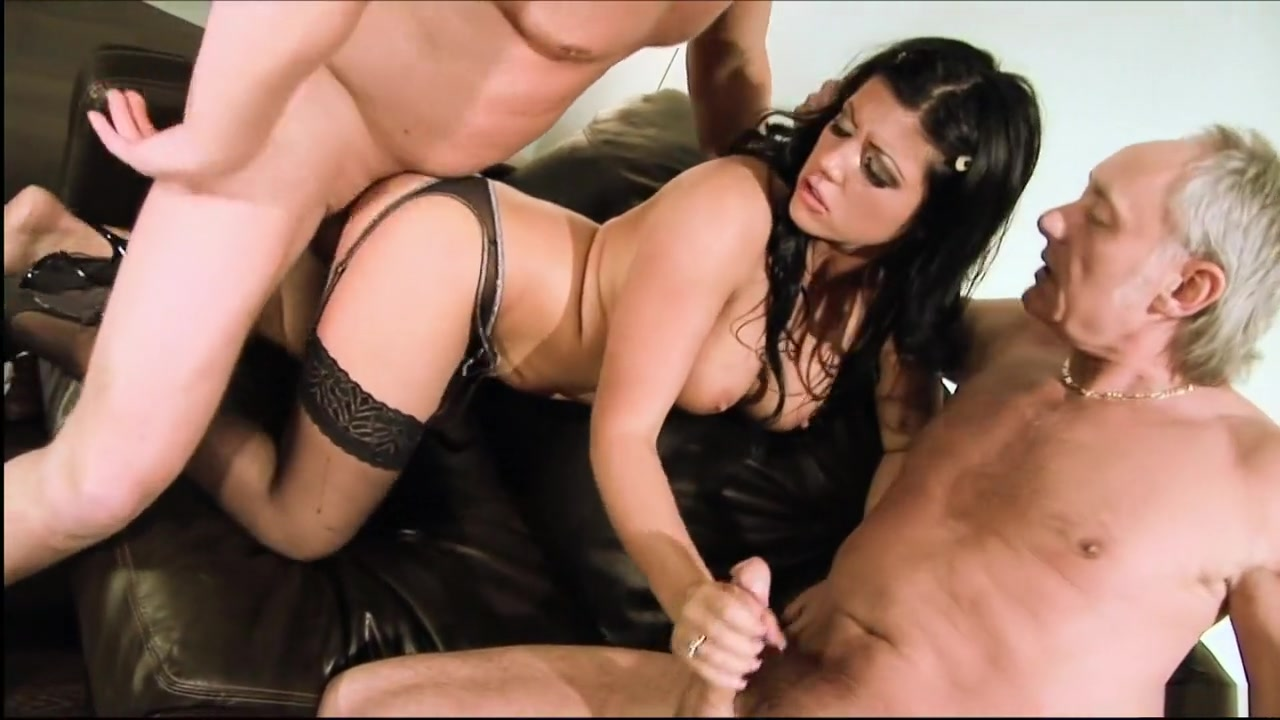 Hottest pornstar Amanda Bleack in fabulous fetish, lingerie adult video girl cant take huge cock