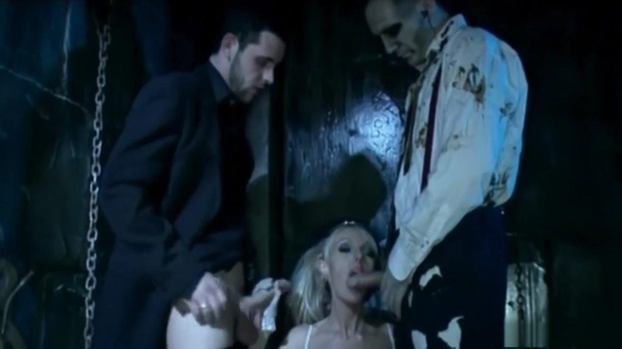 XXX Video Nun deep throats huge black cock