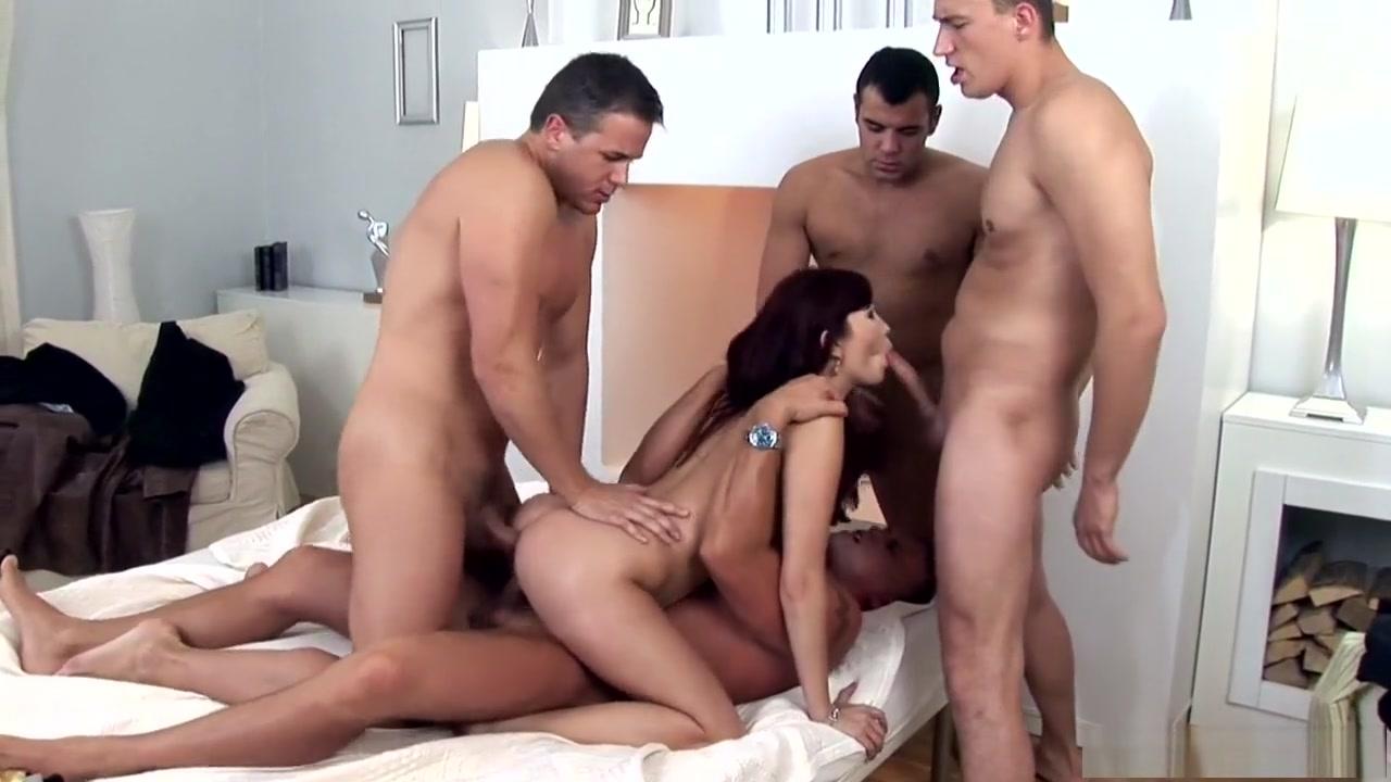 Horny pornstar Aisha Sun in incredible facial, dp sex clip first time tasting cum