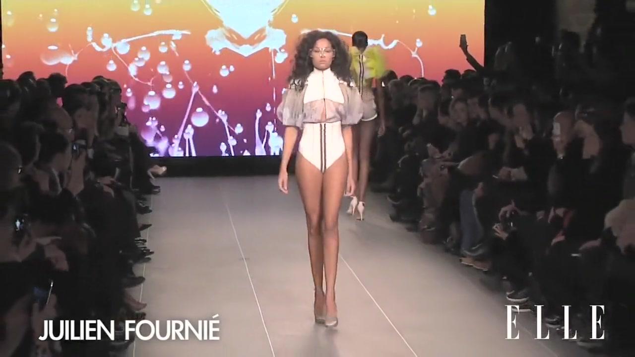 Nude Fashion Week Julien Fournie Dating manic depressive