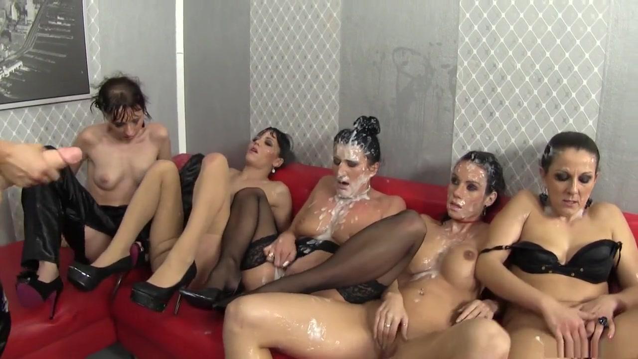 Lesbian orgies Brunettes porn