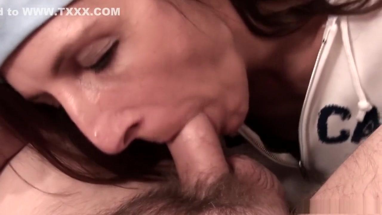 Porn clips Sexy milf strokes this big prick