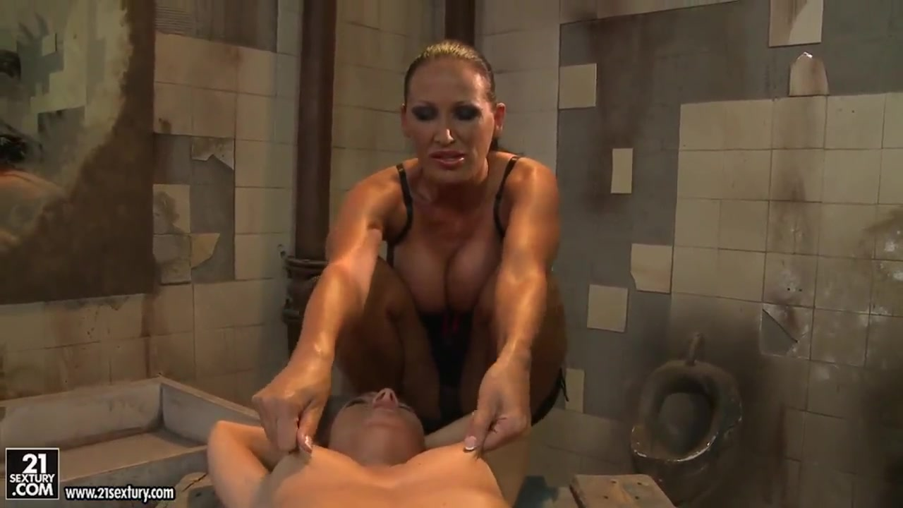 Two Horny Lesbian Outdoor Masturbation Nude photos