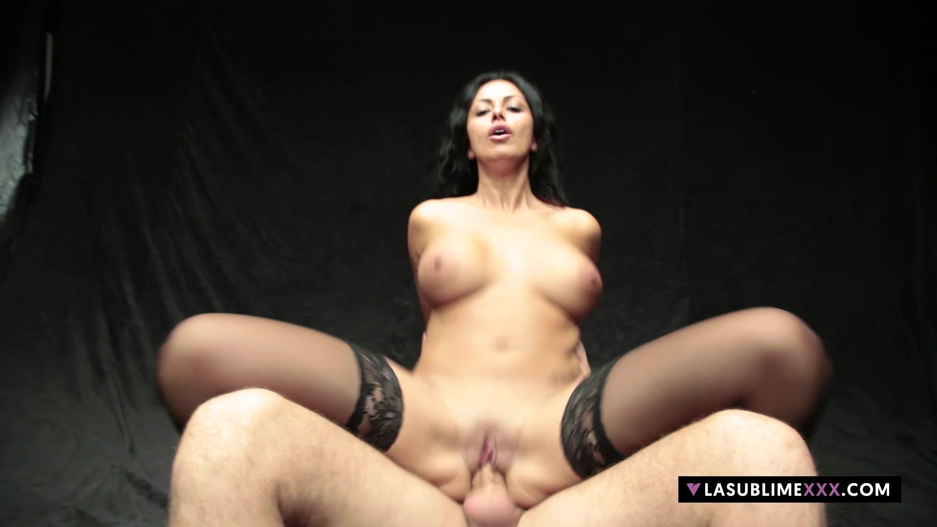 Hot porno Tube big natural creampie