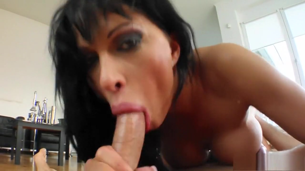 Anal for cute brunette milf by troc Nude photos