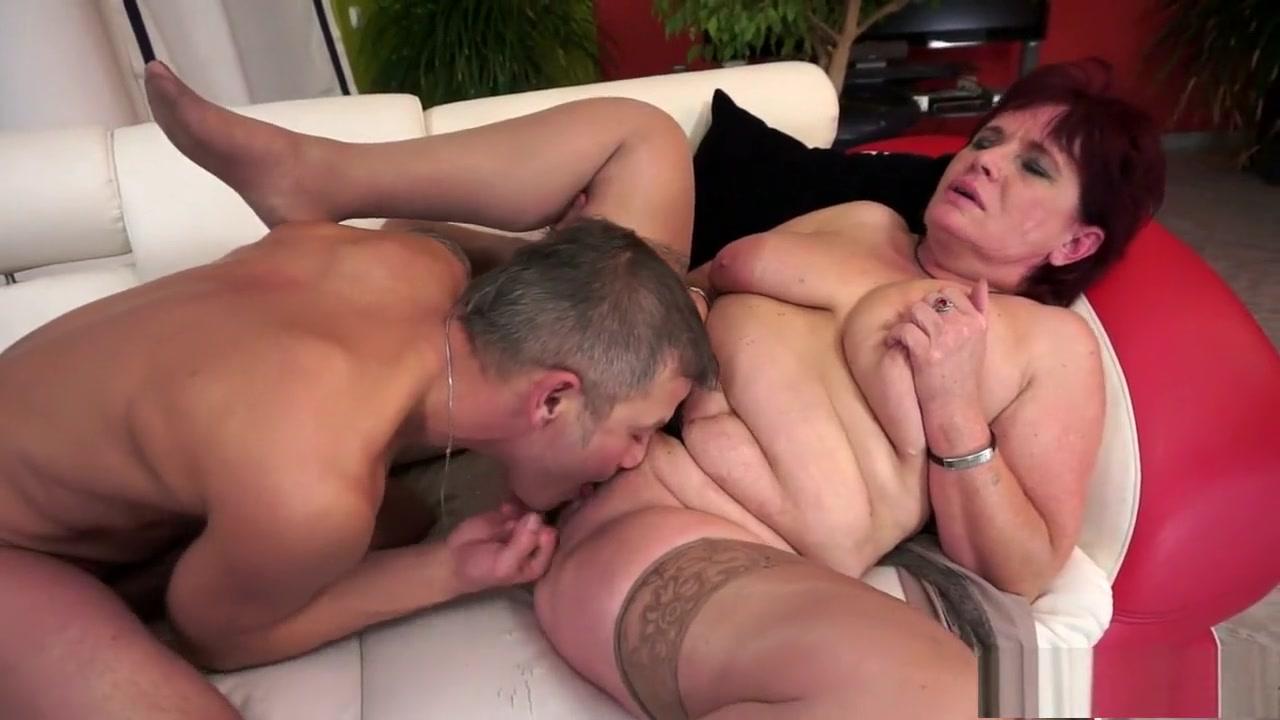Chunky mature Renata invites a young man to satisfy her sexual urges