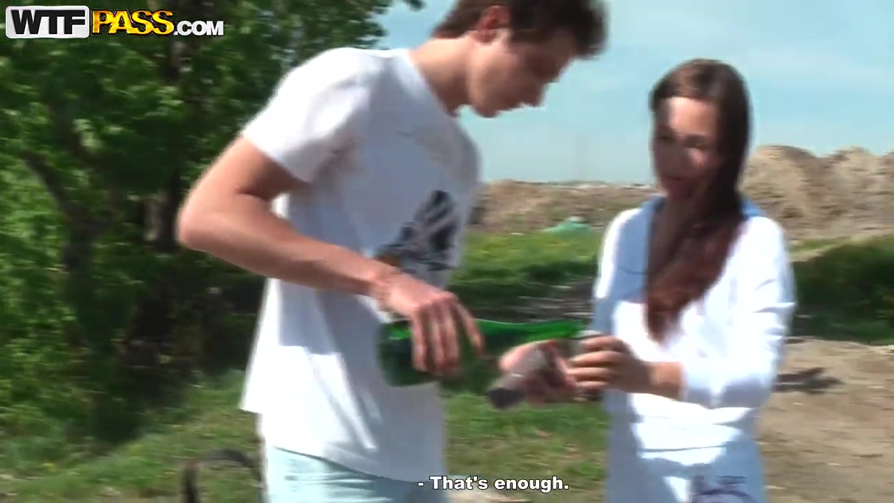 Outdoor banging session for the beautiful brunette babe Abbey and her boyfriend brother and sister sex videos