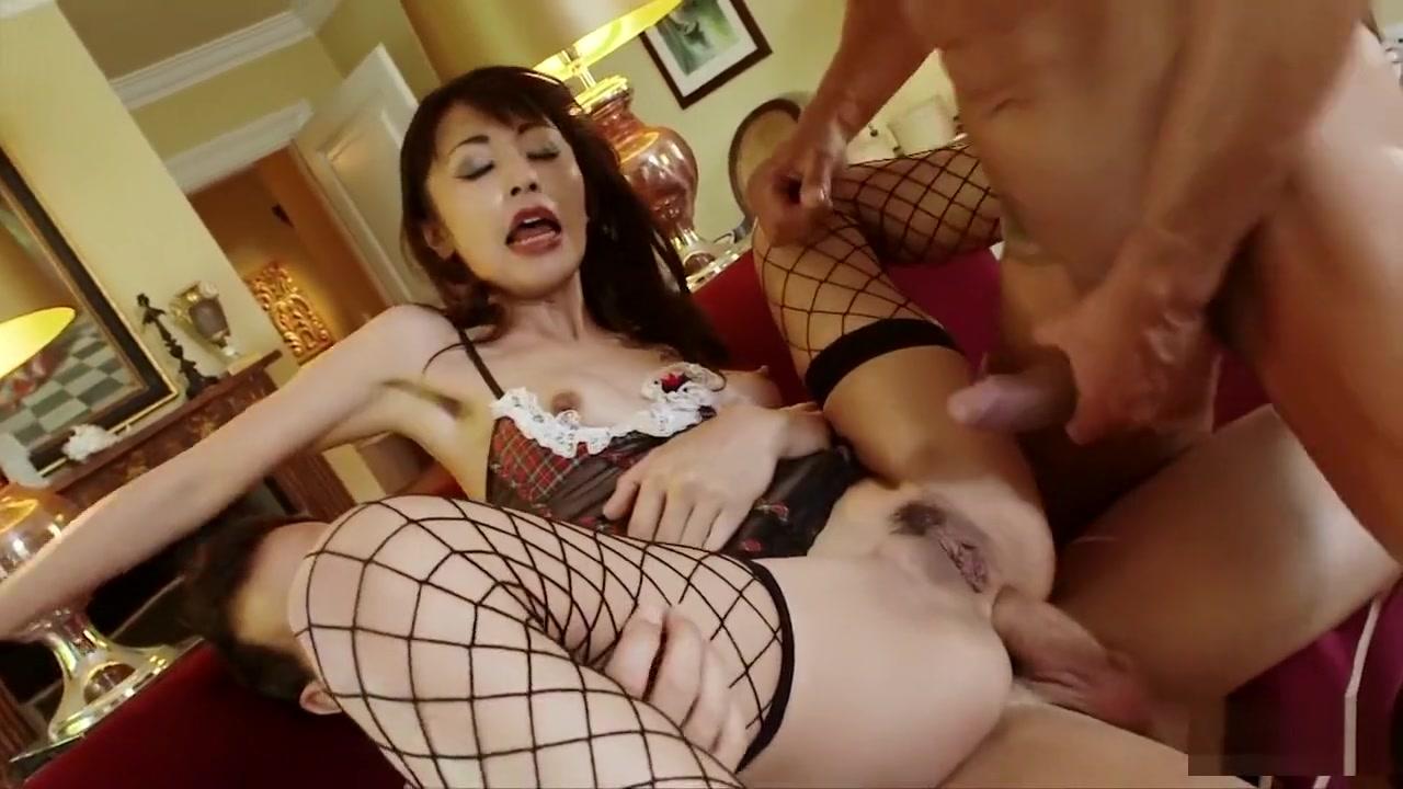 Threesome with Marika shemale anal cumshot straight