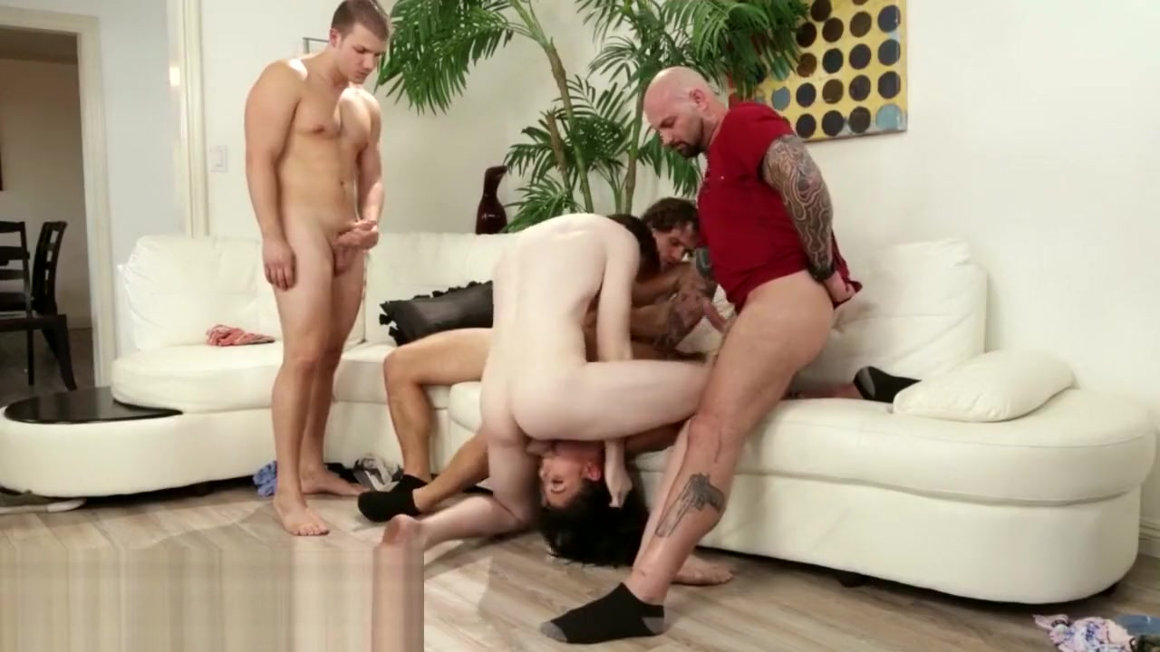 PrettyDirty Gina Blows StepBrother and All His Friends Masseuse in les threeway