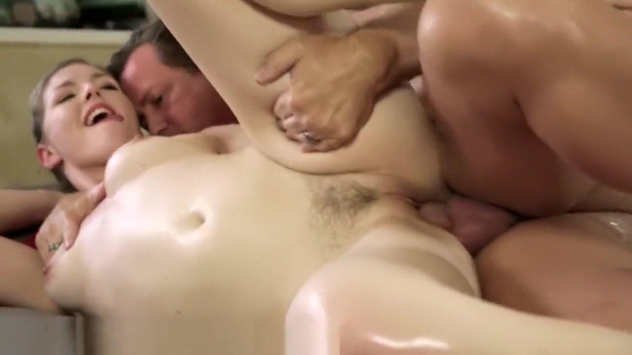 NuruMassage Luring Daddy to Nuru Parlor gay men anal sex