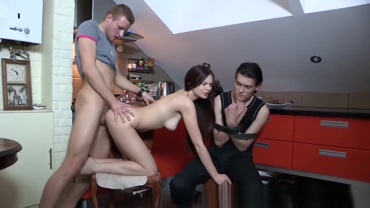 Naked Pictures Mature slut gangbanged in the basement